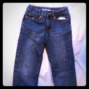 Boys lined jeans